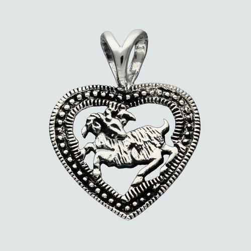 Colgante Corazón Signo Aries