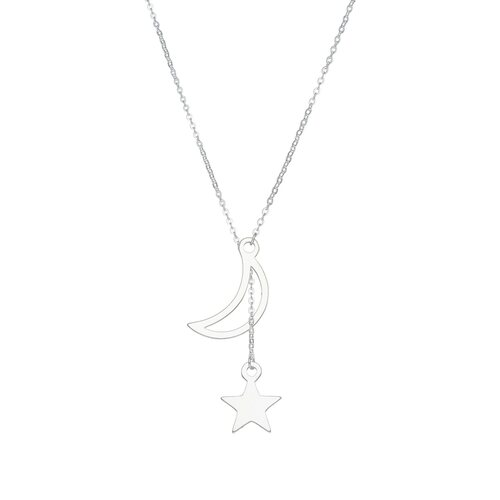 Collar Corbatero Media Luna Estrella