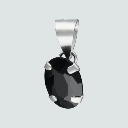 Colgante Circón Ónix Ovalado 8x6 mm