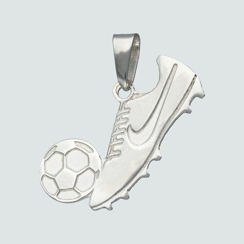 Colgante Zapato con Pelota de Futbol