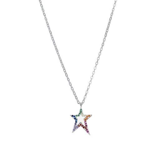 Collar Estrella Circones Multicolor