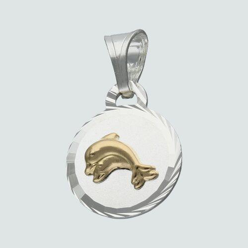 Colgante Delfín con Oro