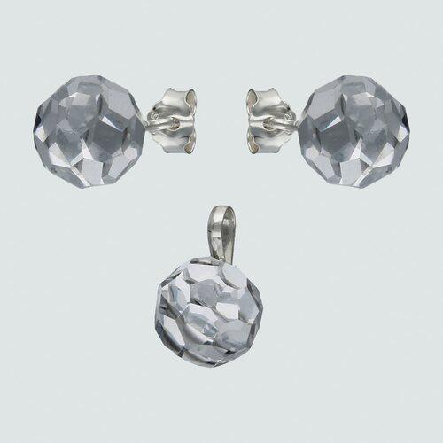 Conjunto Esfera Hecho con Cristal Swarovski® 8 mm