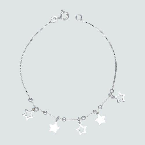 Pulsera Veneciana Esferas y Estrellas
