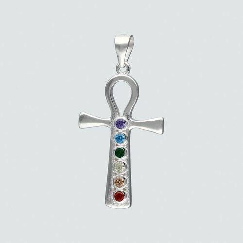 Colgante Cruz Egipcia Circones Multicolor