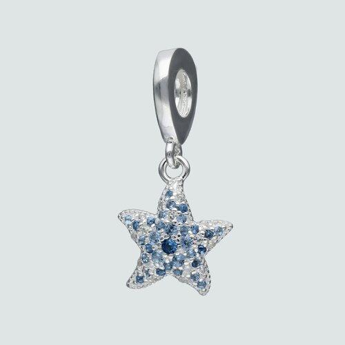 Colgante Charm Estrella de Mar Circones Agua Marina
