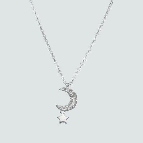 Collar Estrella Media Luna Circones