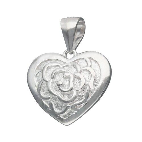 Colgante Corazón Flor