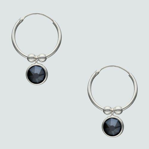 Argolla Cristal Hecho con Swarovski® 16 mm