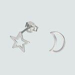 Aro Desigual Media Luna Estrella
