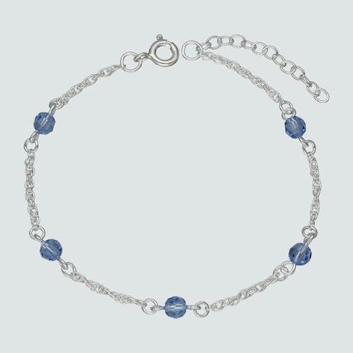 Pulsera Cristales Azules