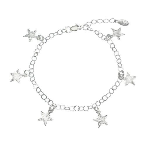 Pulsera Estrellas Facetadas