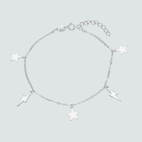 Pulsera Estrellas y Rayos