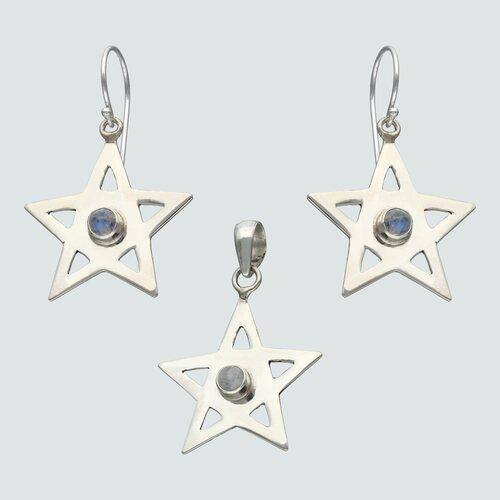 Conjunto Estrella Piedra Luna