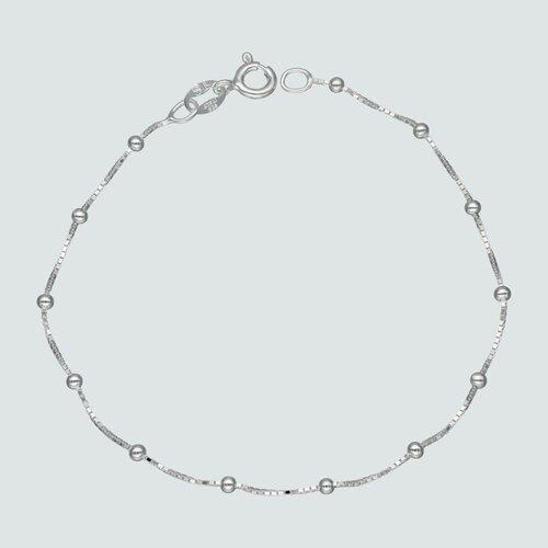 Pulsera Veneciana con Esferas 17 cm