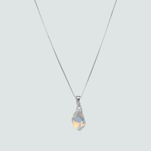 Collar Gota Hecho con Cristal Swarovski® Tornasol