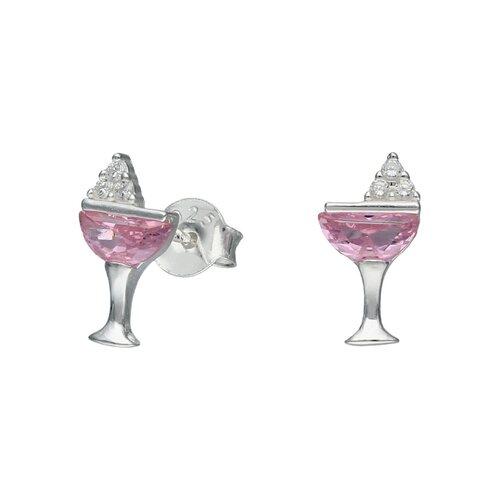 Aro Coctel Circones Rosa Francia