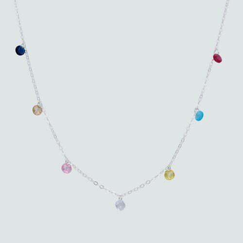 Collar 7 Chakras Hecho con Cristal Swarovski®