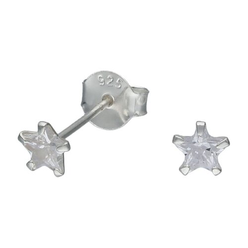 Aro Estrella Circón 5 mm