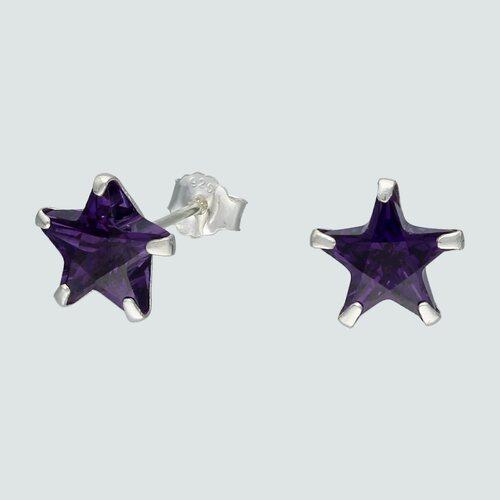 Aro Estrella Circón Amatista 8 mm