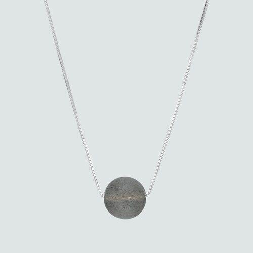 Collar Esfera Labradorita