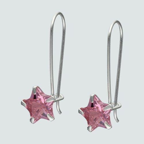 Aro Estrella Circón Rosa Francia 8 mm
