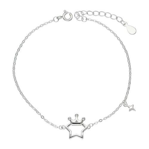 Pulsera Estrella con Corona
