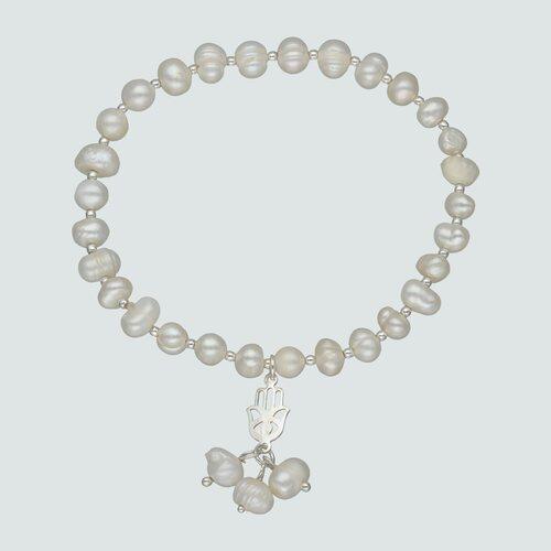 Pulsera Elastica Perlas Desiguales
