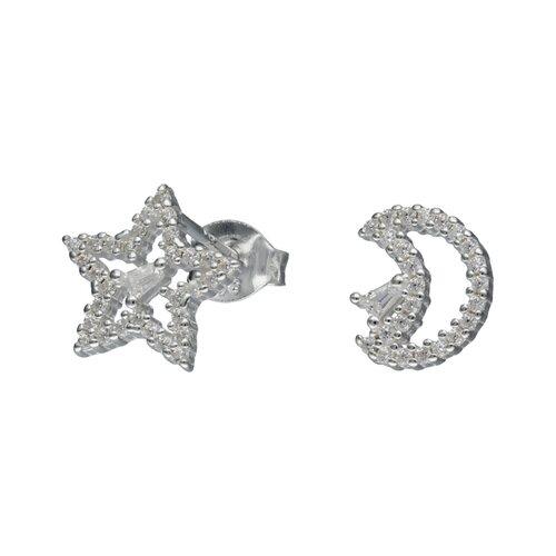 Aro Desigual Media Luna Estrella Circones