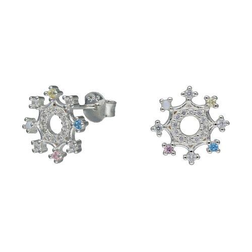 Aro Copo de Nieve Circones Multicolor