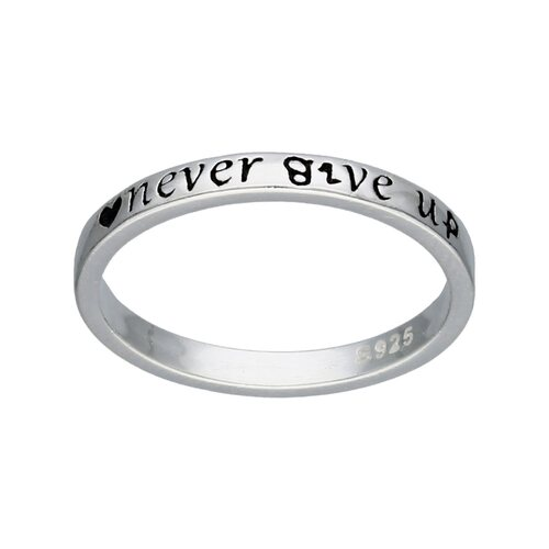 Anillo Never Give Up