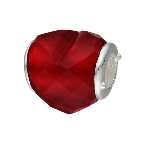 Colgante Charm Cristal Murano Rojo