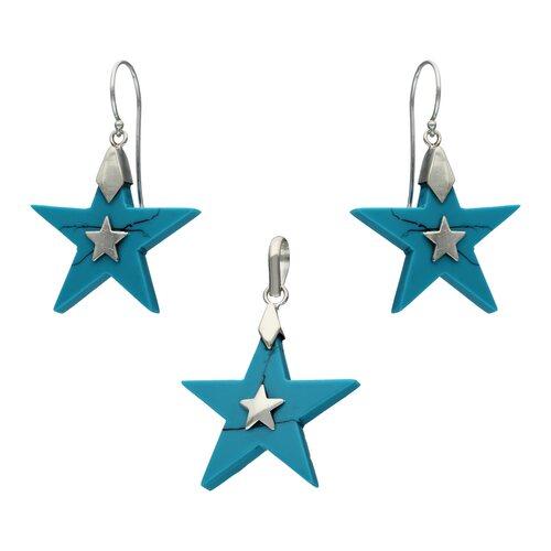 Conjunto Estrella Turquesa