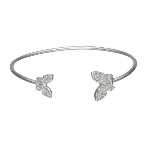 Esclava Ajustable Mariposas Circones