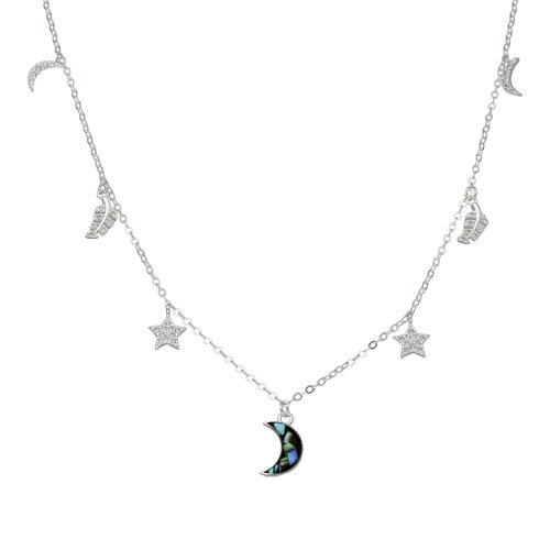 Collar Estrellas Media Luna Circones Abalon