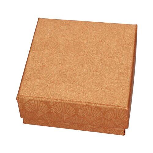 Caja Conjunto Texturizada Bronce