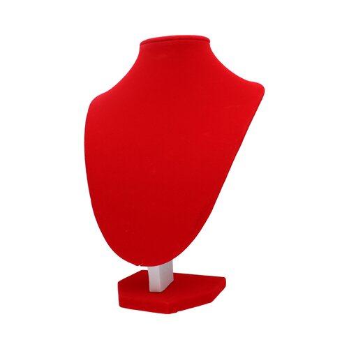 Cuello de Terciopelo Grande Rojo