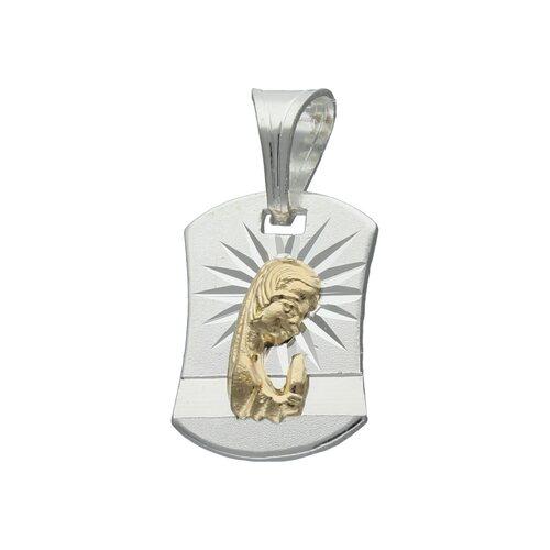 Colgante Virgen Niña con Oro