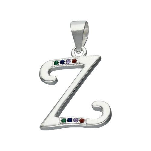 Colgante Letra Z con Circones Multicolor