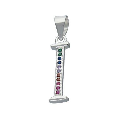 Colgante Letra I con Circones Multicolor