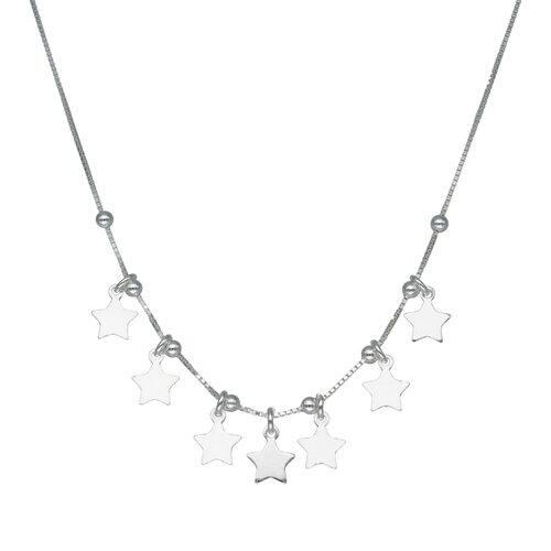 Collar Estrellas y Esferas