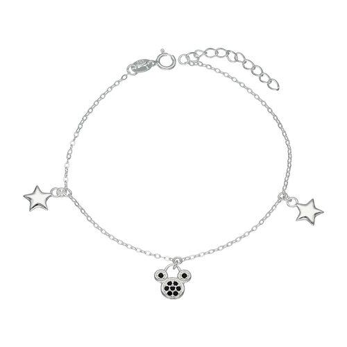 Pulsera Estrella Ratoncitos Circones Ónix