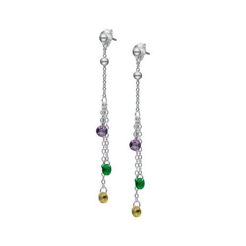 Aro Cristales Hecho con Swarovski® Multicolor
