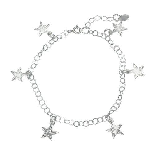 Pulsera con Estrellas Facetadas