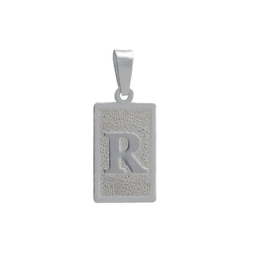 Colgante Placa Letra R