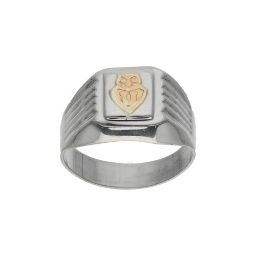 Anillo Sello Universidad de Chile con Oro