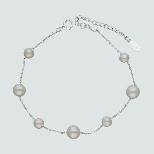 Pulsera Tradicional con Perlas