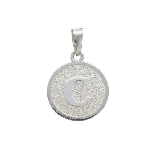 Colgante Circular Letra C