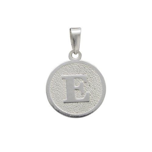 Colgante Circular Letra E