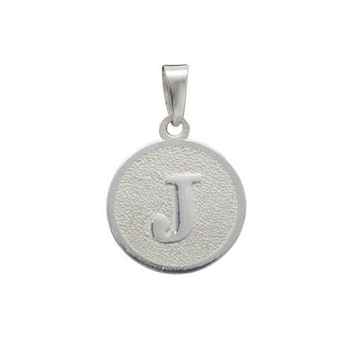 Colgante Circular Letra J